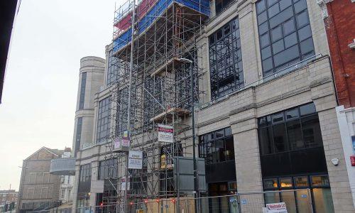 Nova House Four - Bournemouth Scaffolding Project