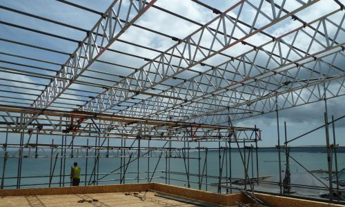 Temporary Roof Structures - Bournemouth Scaffolding