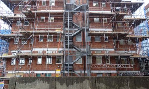 Richmond Hill Office Building One - Bournemouth Scaffolding Project