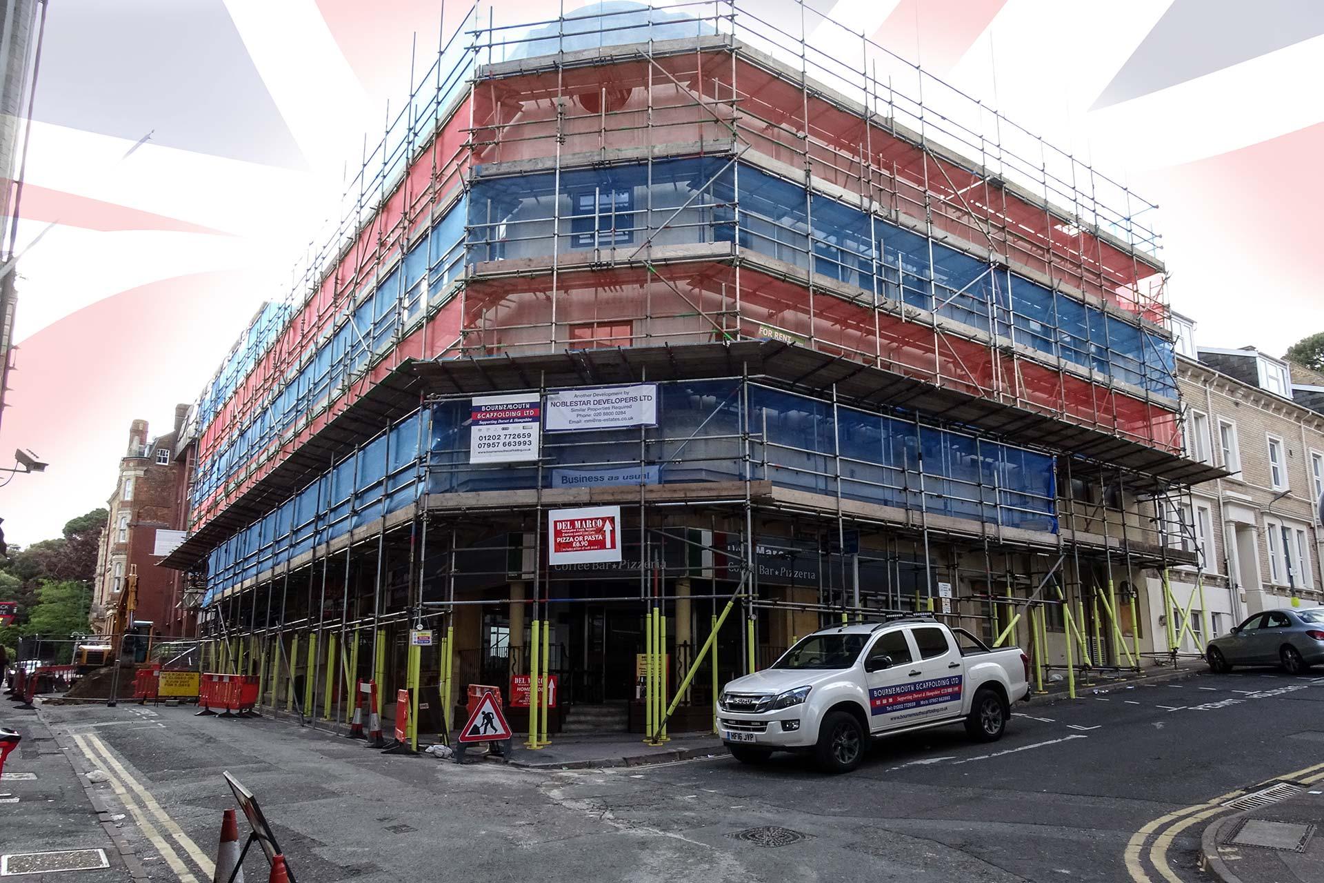 Slide - Denham House Scaffolding