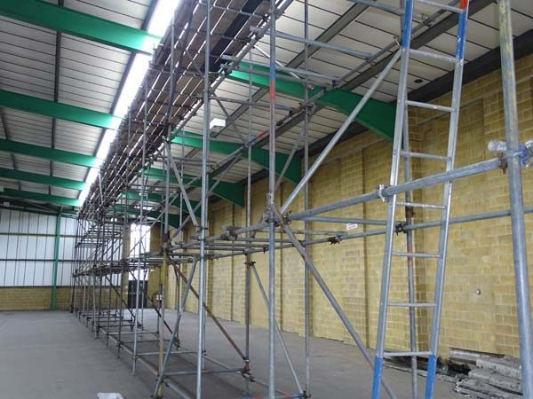 Unit 37 South Hampshire Industrial Park Three - Bournemouth Scaffolding Project