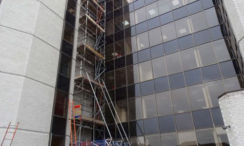 Waverley House One - Bournemouth Scaffolding Project